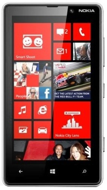 Смартфон Nokia Lumia 820 White - Климовск